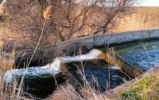 Річка Сінна. Водоскиди