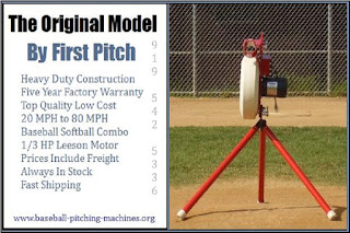 Original Model Pitching Machine - Heavy Duty Baseball Softball Batting Practice