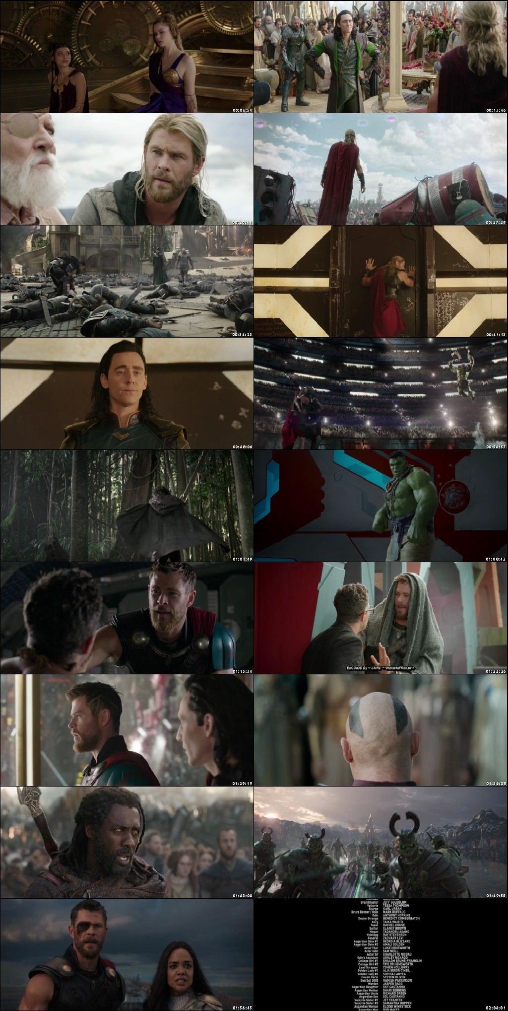 Screen Shot Of Thor: Ragnarok 2017 In Hindi English Dual Audio Bluray
