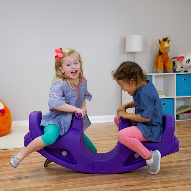 The Rock & Roll Teeter Totter!  Fun for Two from Simplay3