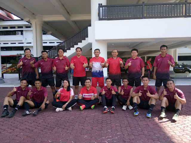 Kaunang Poles 14 Pemain Futsal Pemprov Sulut