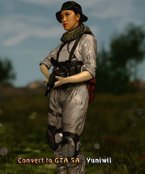 Hannah Battlefield 4 in GTA - GTA SA modding,GTA V, GTA IV, GTA Vice