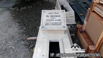 Makam Marmer Tulungagung, Marmer Untuk Kuburan, Kijing Makam Marmer