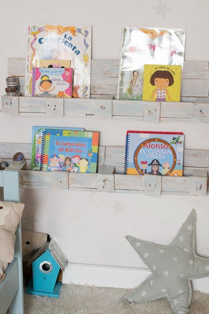Pallets For Decorating Children's Rooms 7