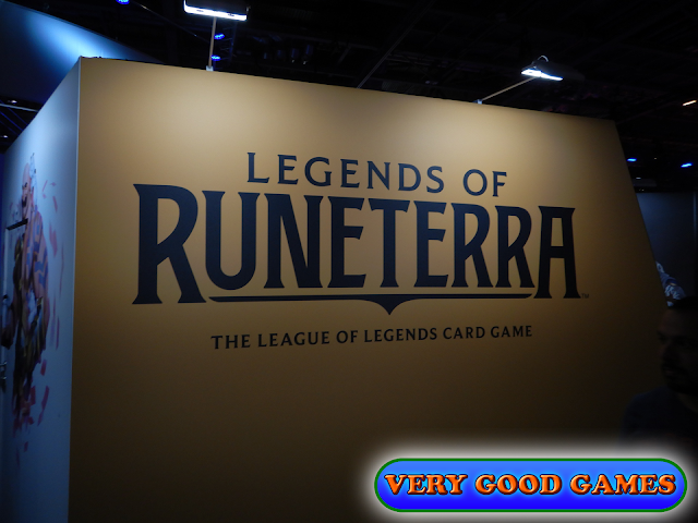 Photo report from the gaming event EGX 2019 in London - the card game Legends of Runeterra