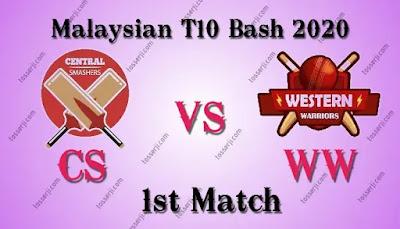 Who will win CS vs WW 1st T20I Match