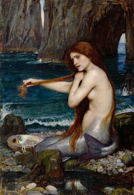 A Mermaid by John William Waterhouse (1849–1917), oil on canvas