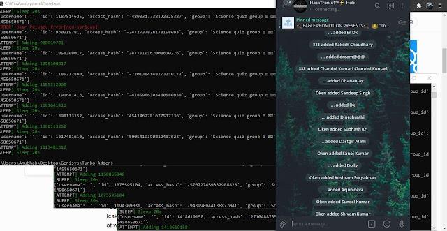 Genisys - Powerful Telegram Members Scraping And Adding Toolkit