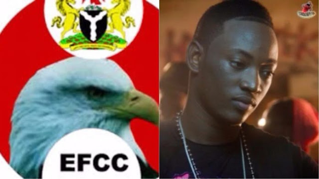 EFCC throws heavy shade at Dammy Krane over credit card fraud (See Pics)