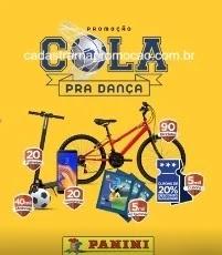 Promoção Panini Brasileirão 2019 Cola Pra Dança