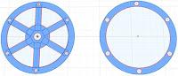 Extrude Clock Wheel