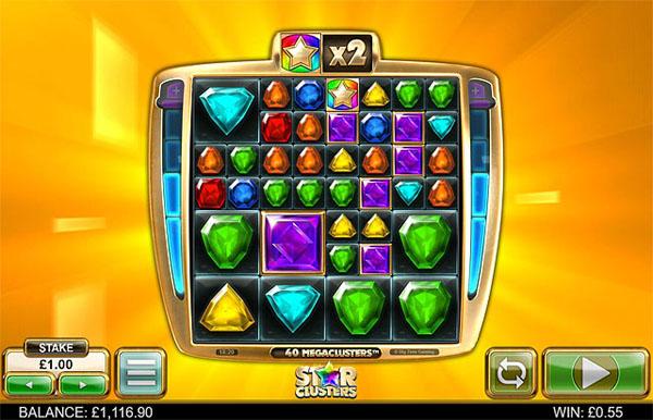 Main Gratis Slot Indonesia - Star Clusters Megaclusters (Big Time Gaming)