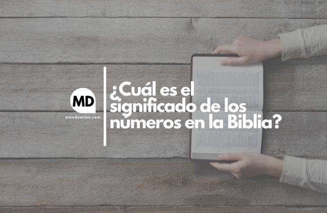 Significado de los números en la Biblia
