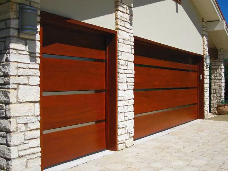 Double Wooden Garage Doors Prices