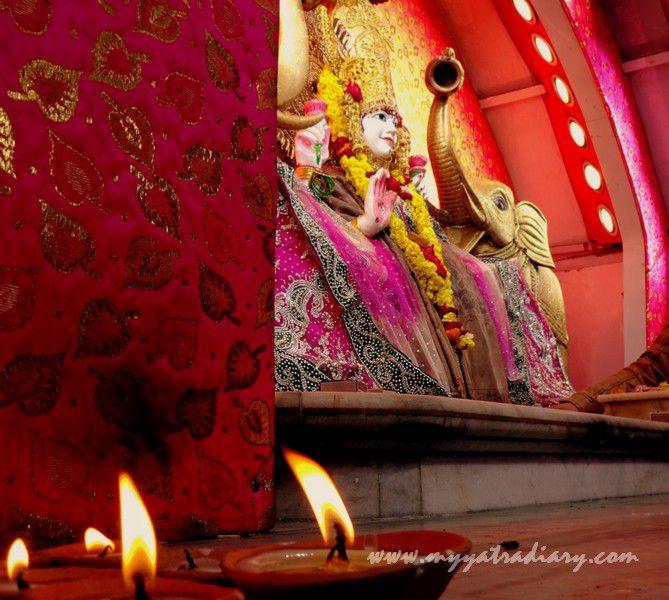 Deities at the Anandeshwar Dham Kanpur, Uttar Pradesh