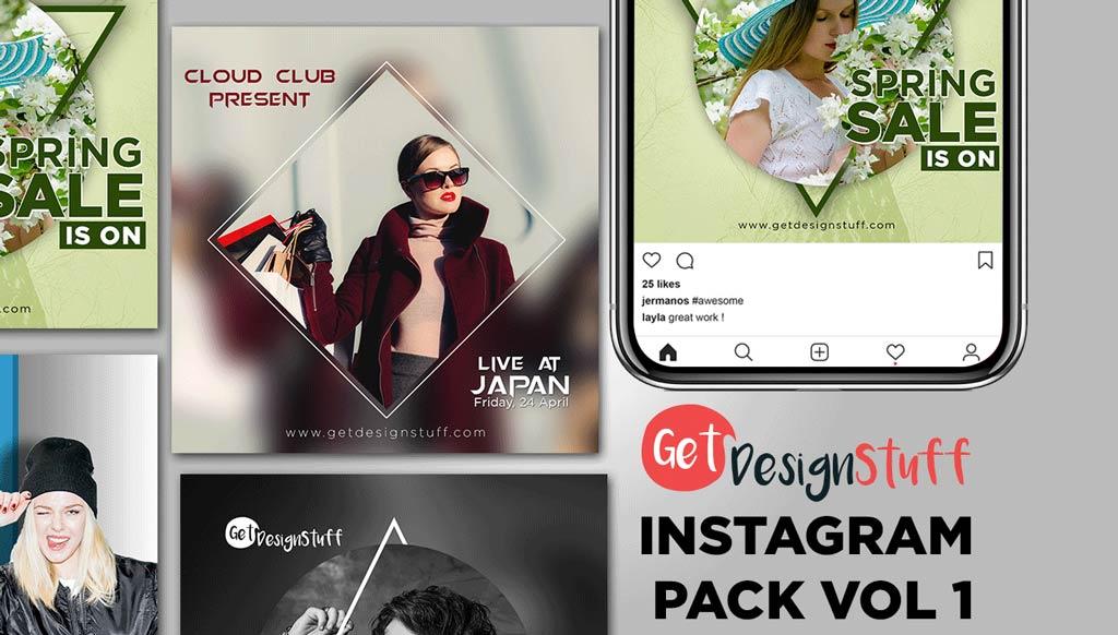 Download Instagram Pack Vol 1 Banners