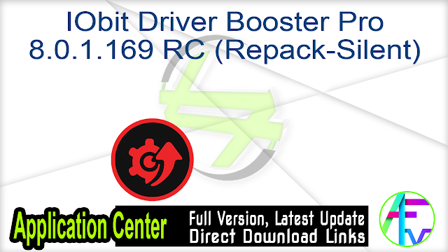 IObit Driver Booster Pro 8.0.1.169 RC (Repack-Silent)