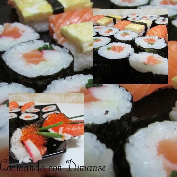 Cocinando con Dimanse Comida japonesa El sushi