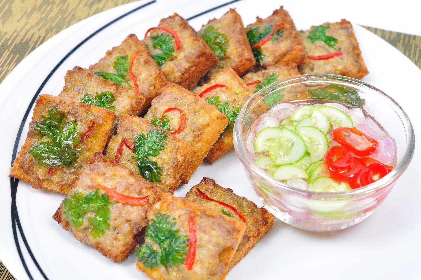 ขนมปังหน้าหมู สูตรกรอบอร่อยเหมือนร้านทำขาย | สูตรอาหารไทย