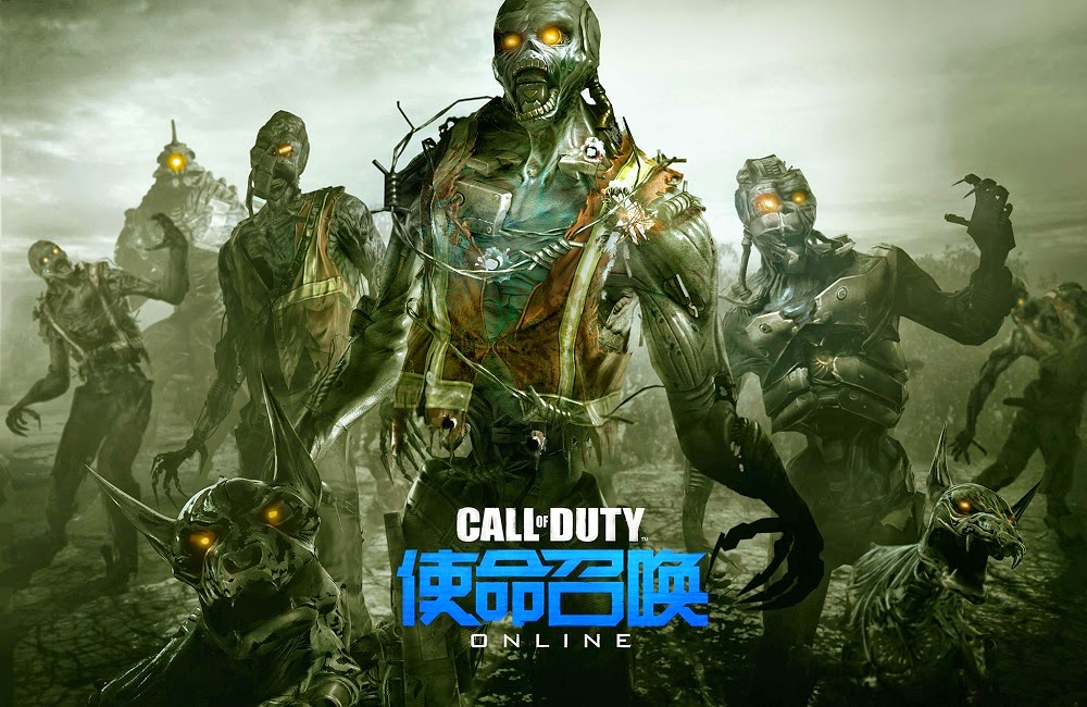 Call of Duty Online - cyborg Zombie