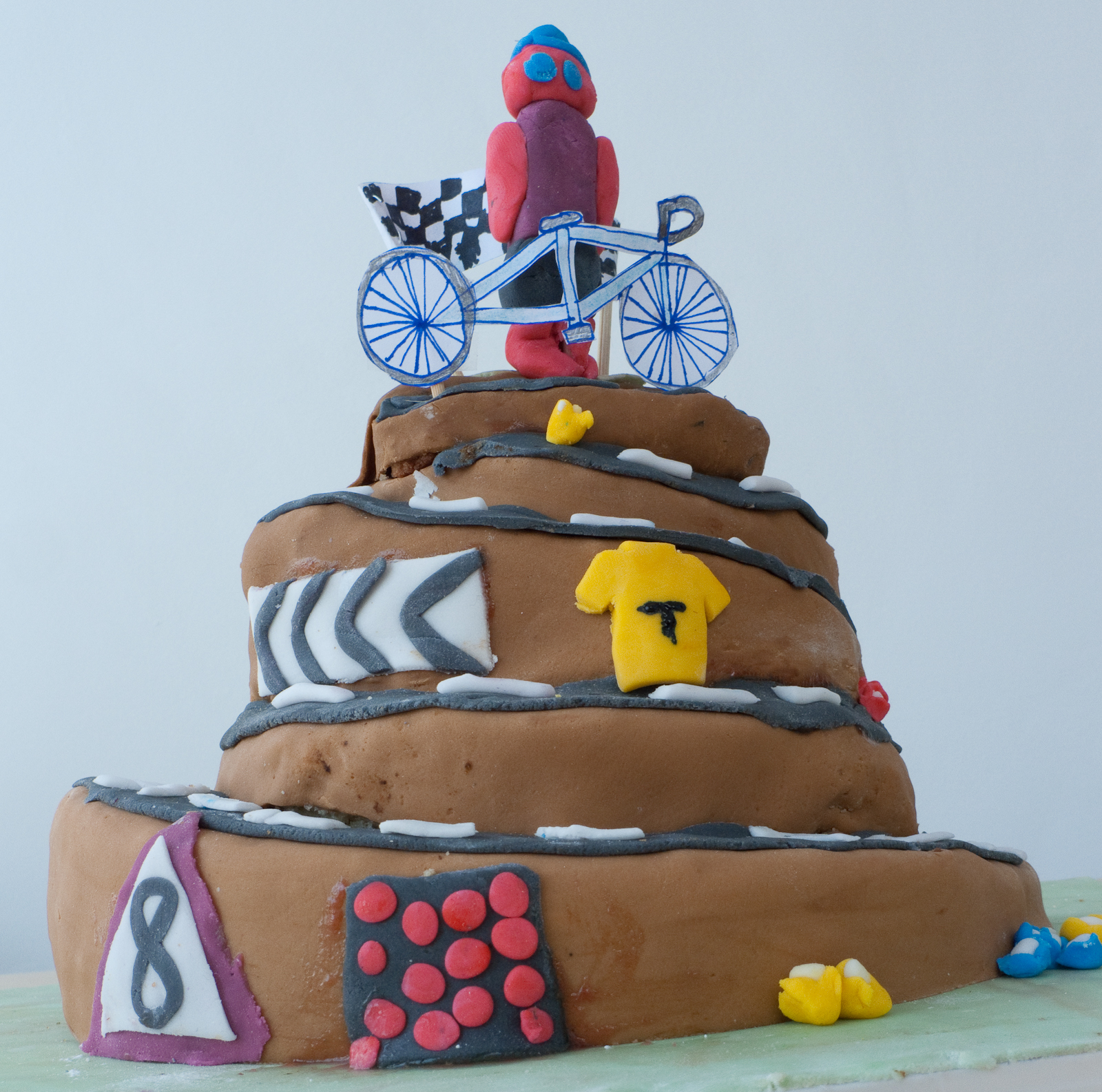 Minipips And His Dads Cycling Adventures Minipips Birthday Cake