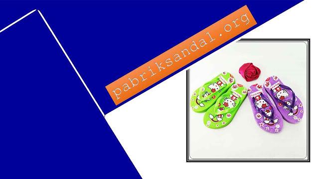 Pabrik Sandal Baby Girl Termurah - Sandal AB Sablon HK Baby