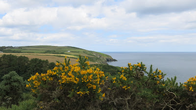 The coast between Douglas and Laxey - Isle of Man