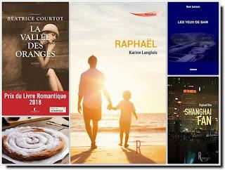 Vie quotidienne de FLaure : Livres présentés pendant le mois de septembre 2018