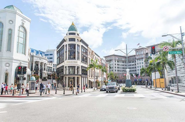 Summary of some ideal shopping centers in Los Angeles