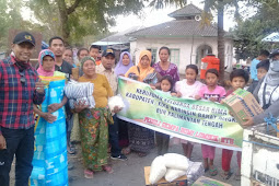 Keluarga Besar Bima Pangkalan Bun Kalimantan Tengah Drop Bantuan Korban gempa Lombok