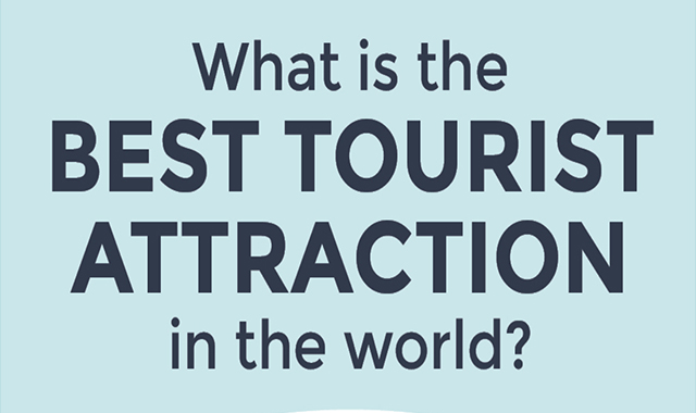 What is the best tourist attraction in the world? #infographic