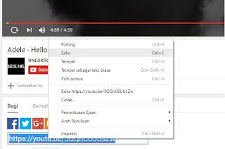 Salin Link Video Youtube