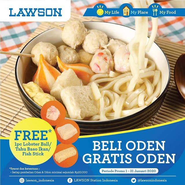 #Lawson - #Promo Beli Oden Gratis Oden Min Belanja 20K (s.d 31 Jan 2020)