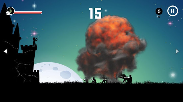 Bomb Strike Non Stop Action Game
