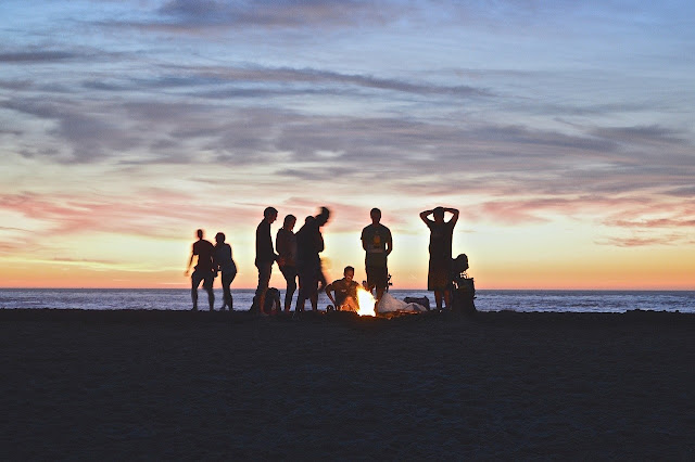 Picture of a Beach Party