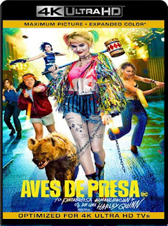 Aves de Presa (2020) HD [4K 2160P] Latino  [Google Drive] Panchirulo