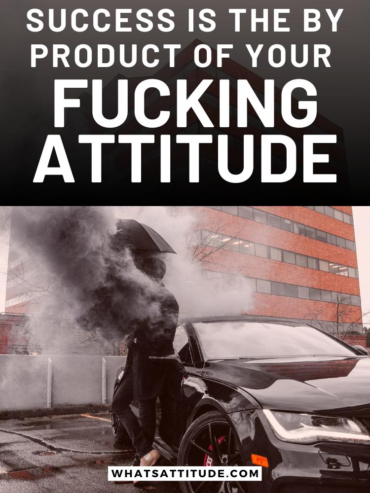 attitude caption for pic