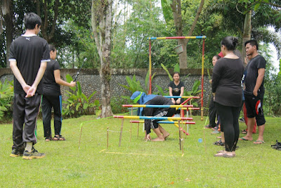 OUTBOUND TRAINING DI BOGOR