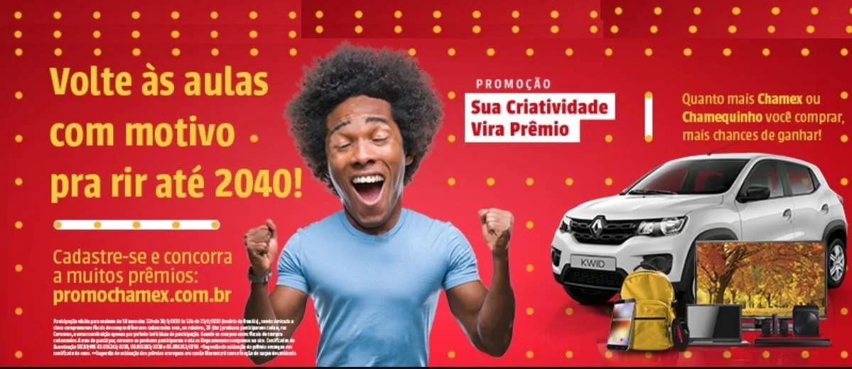 Promoção Papel Chamex Sua Criatividade Vira Prêmio - Carro e Prêmios