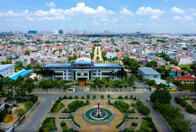 Sở hữu tốc độ phát triển đô thị ổn định nhiều năm liền, Thuận An đã được chính thức lên thành phố đầu năm 2020 (ảnh: Sưu tầm)