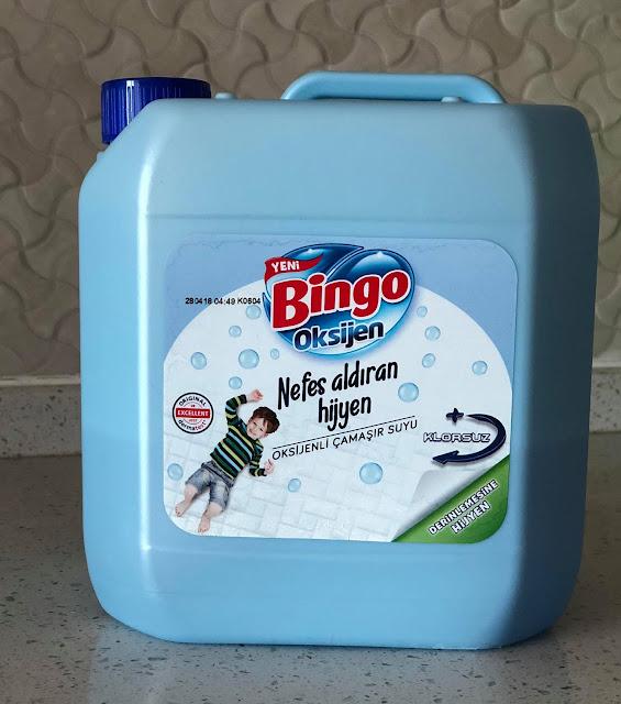 bingo oksijenli çamaşır suyu