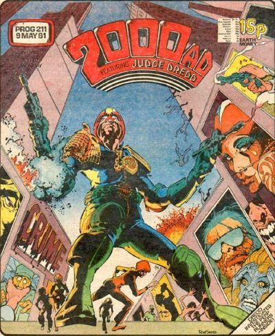 2000 AD Prog 211, Judge Dredd