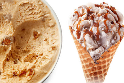 Almond ice cream without an ice cream maker