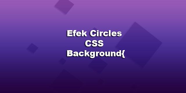 Membuat background Dengan Efek Gradient circles