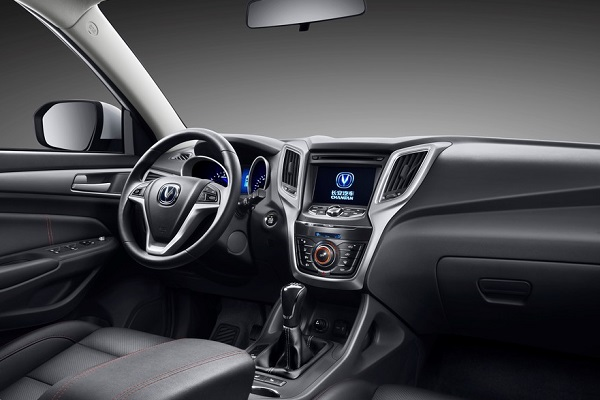 Changan CS75 Luxury 4WD Interior