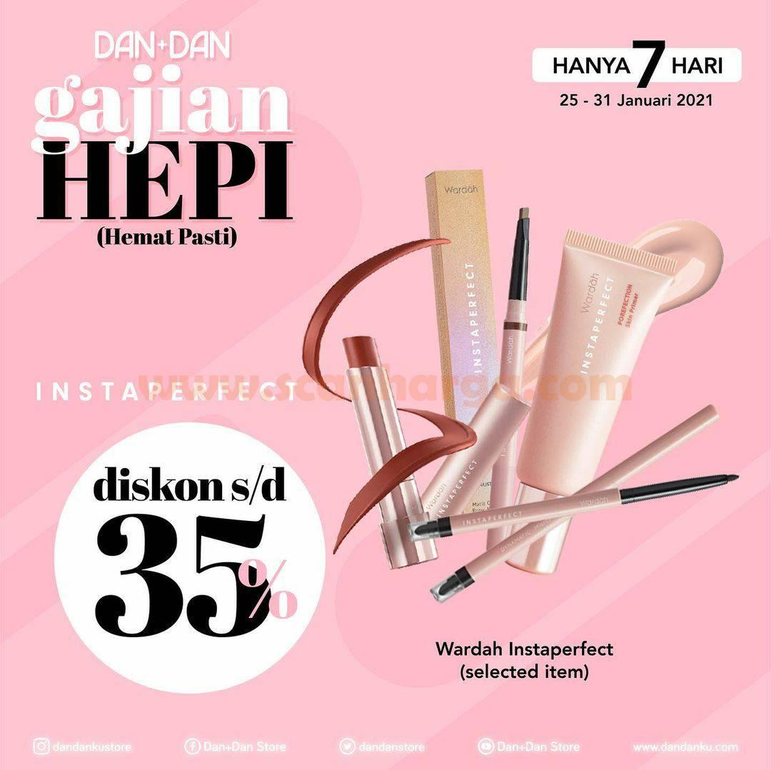 DAN+DAN Spesial Promo GAJIAN HEPI! Diskon hingga 35%