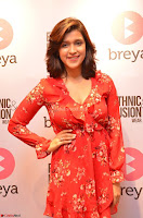 Mannara Chopra in deep neck Short red sleeveless dress Cute Beauty ~  Exclusive Celebrities Galleries 087.JPG