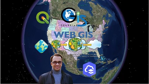 Basic of GIS & Web GIS: QGIS, ArcGIS Pro & Online, GeoServer