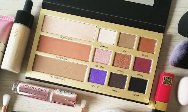 paletas de sombras makeup revolution
