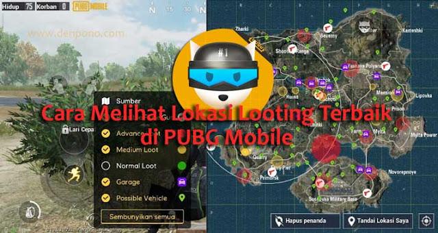 Cara Mengetahui Tempat Looting Terbaik di Semua Map PUBG Mobile  Cara Mengetahui Tempat Looting Terbaik di Semua Map PUBG Mobile FlashDog Loot Location